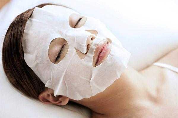 Тканевая маска для лица для быстрого эффекта