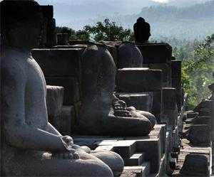 храмовый комплекс Борободур на острове Ява, Индонезия
