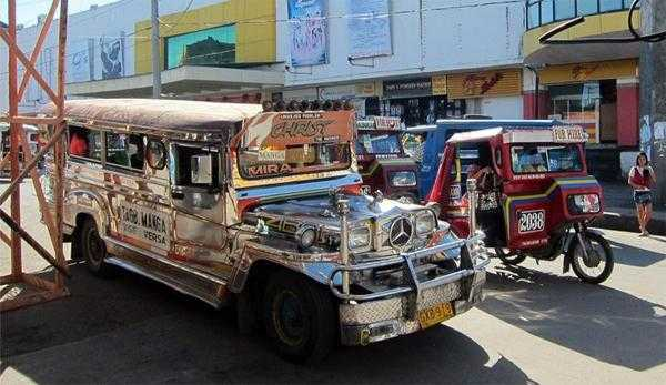 джипси на Филиппинах