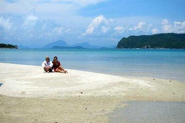 на островах вокруг Самуи (Таиланд)