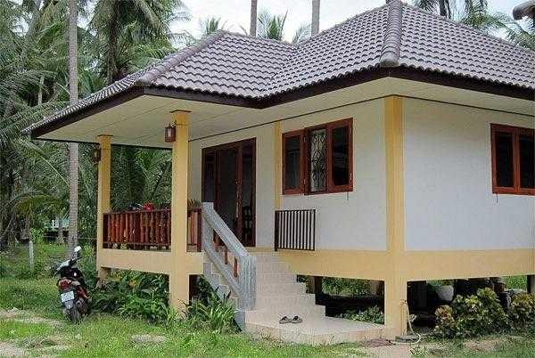 дом в коксовом лесу на острове Самуи Таиланд