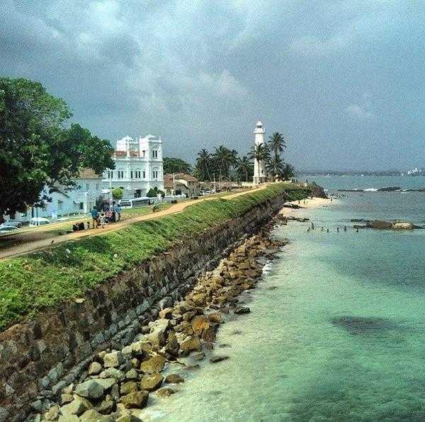 Маяк в форте Галле, Шри Ланка