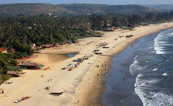 пляжи Арамболя - Гоа, Индия