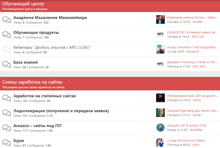 Закрытый платный форум для вебмастеров Яра Громова и Олега Василенко - FMC.guru