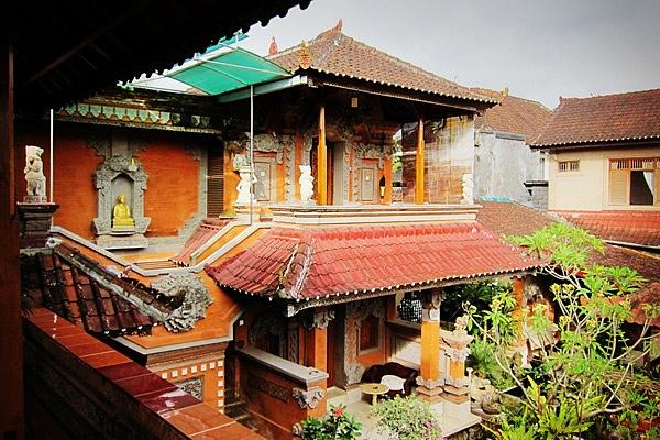 Гестхаус в традиционном стиле на Бали